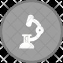 Labortory Microscope Lab Icon