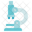 Medical Service Microscope Laboratory Icon