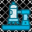 Microscope Medical Health Icon