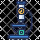 Market Research Microscope Icon