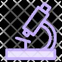 Microscope Science Laboratory Icon