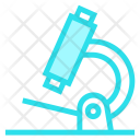 Microscope Lab Test Icon