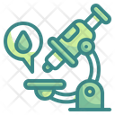 Microscope Science Medical Icon