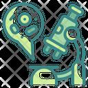 Microscope Research Scientific Icon