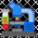 Microscope Lab Science Icon