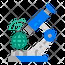 Microscope World Develop Icon