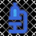 Microscope Laboratory Healthcare Icon