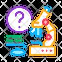 Microscope Researcher Laboratory Icon