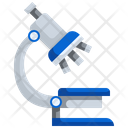 Microscope Research Experiment Icon