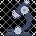Microscope Research Bacteria Icon