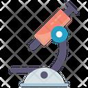 Laboratory Medical Microscope Icon