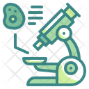 Microscope Scientific Observation Icon