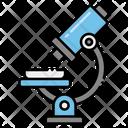 Microscope Lab Equipment Science Icon