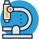 Microscope Laboratory Research Icon