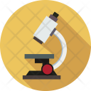 Microscope Optical Test Icon
