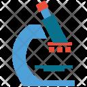 Laboratory Microscope Research Icon