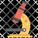 Microscope Lab Instrument Icon