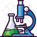 Microscope Science Flask Icon