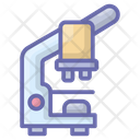 Research Microscope Lab Tool Icon