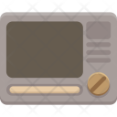 Microwave Cook Kitchen Icon