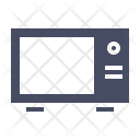 Microwave Oven Bake Icon