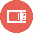 Microwave Oven Heat Icon