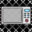 Microwave Oven Electronics Icon