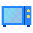 Microwave Oven Cook Icon