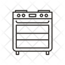 Microwave Oven Stove Icon