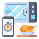Microwave Smart Chicken Icon