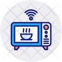 Microwave Smart Appliance Icon