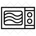 Microwave Electromagnetic Wavelength Icon