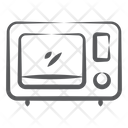 Microwave Oven Kitchen Appliance Electronics Icon