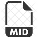 Mid Document File Icon