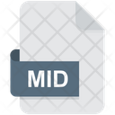 Mid File Format File Icon