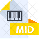 Mid File Mid File Format Icon
