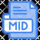 Mid Document File Icon