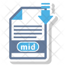 Mid File Format Icon