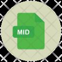 Mid Audio File Icon