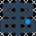 Sign Align Alignment Icon