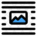 Middle Center Image Icon