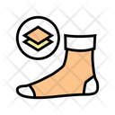 Middle Warm Sock Icon