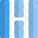 Middle Vertical Grid Icon