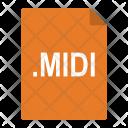 Midi File Format Icon