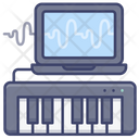 Keyboard Controller Music Icon