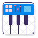 Midi Keyboard Dj Keyboard Icon