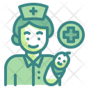 Midwife Profession Occupation Icon