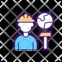 Migrant Worker Icon
