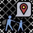 Migration Refugee Asylum Icon