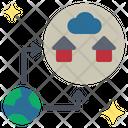 Evacuate Migration Relocate Icon